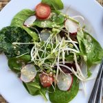 Mix Salad with Miso and Honey